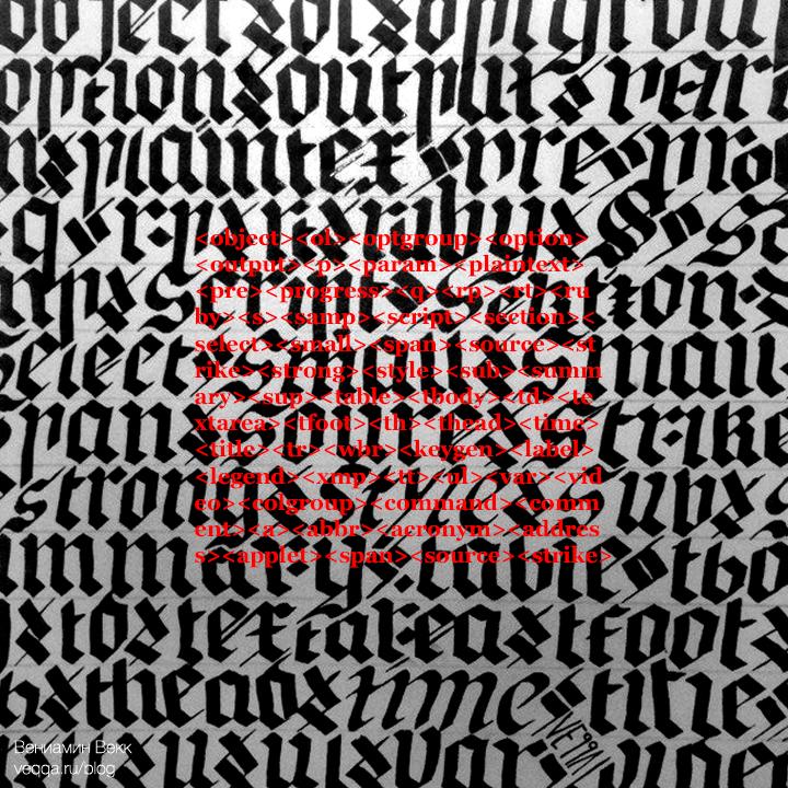 calligracodism